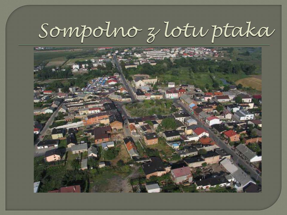  Gmina Sompolno - gmina miejsko - wiejska, położona w północno - wschodniej części powiatu konińskiego, podzielona na 22 sołectwa. Sąsiaduje z następ