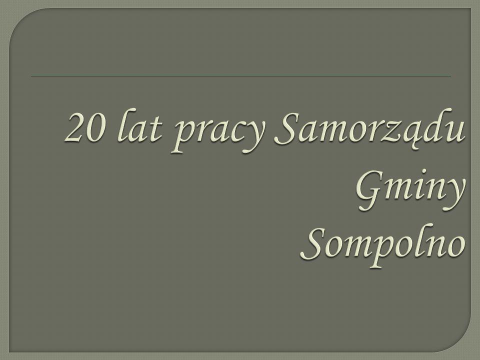  Sompolno to miasto w woj. wielkopolskim, w powiecie konińskim, siedziba gminy miejsko- wiejskiej Sompolno.  Według danych z 30 czerwca 2009, miasto