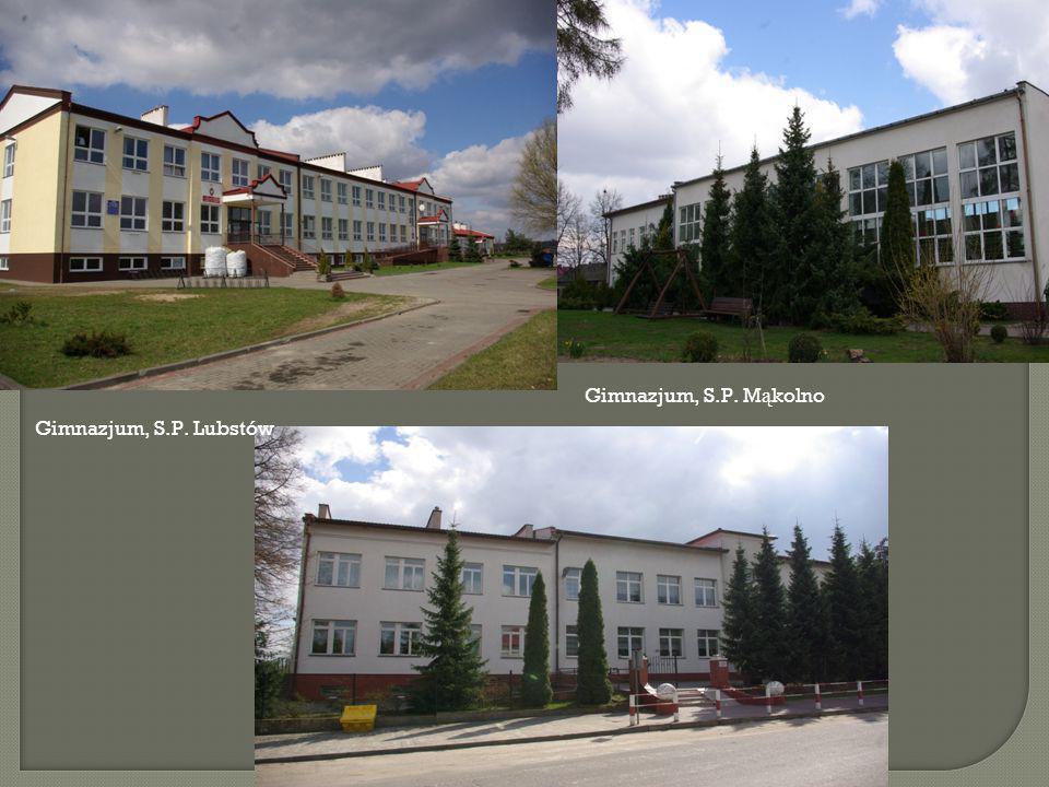  Szkolnictwo:  Szkoła Podstawowa Ośno 1992-1993  Przedszkole Sompolno 1992  Szkoła Podstawowa Sompolno 1993  Szkoła Podstawowa Lubstów 1994-19996