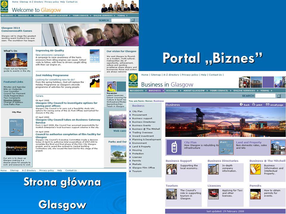 "Glasgow Portal ""Biznes"