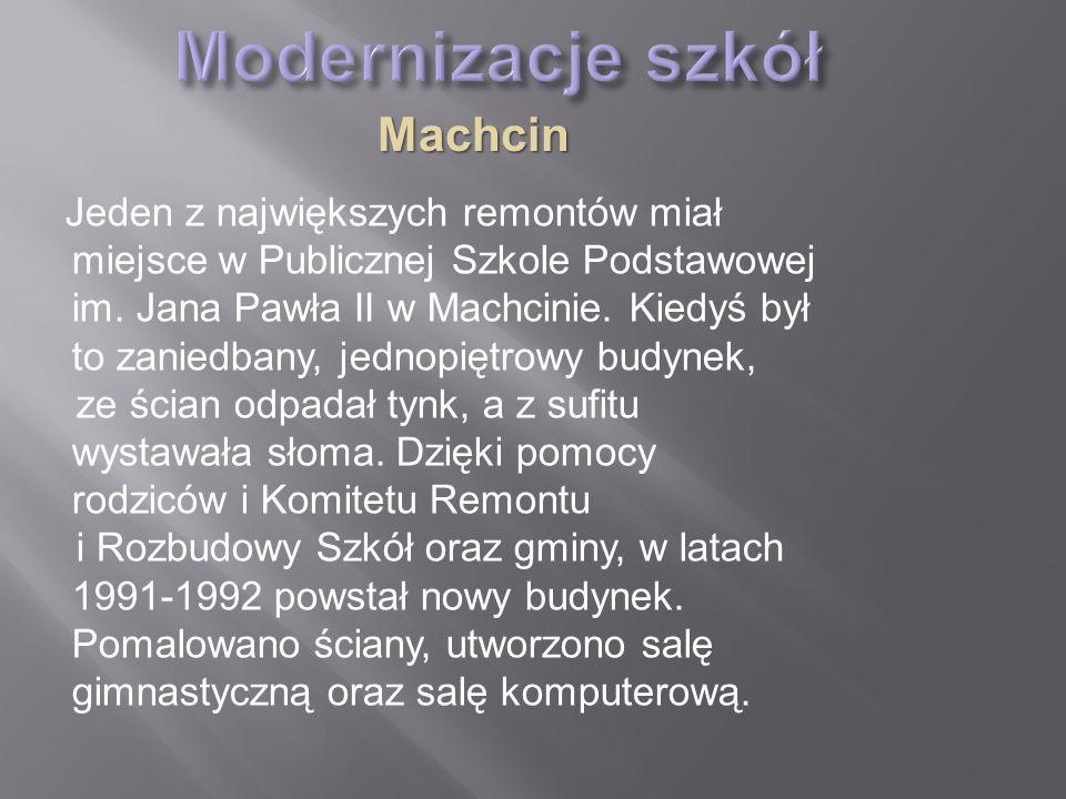 Publiczna Szkoła Podstawowa w Machcinie im.