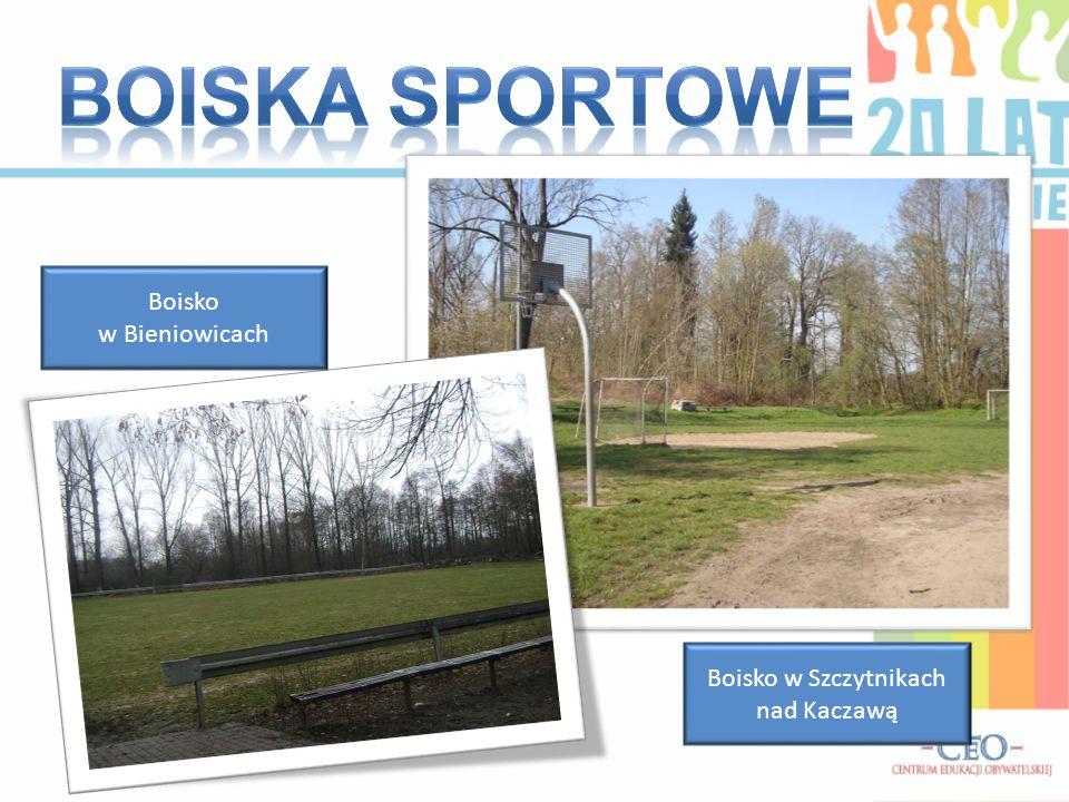 Boisko w Bieniowicach Boisko w Szczytnikach nad Kaczawą