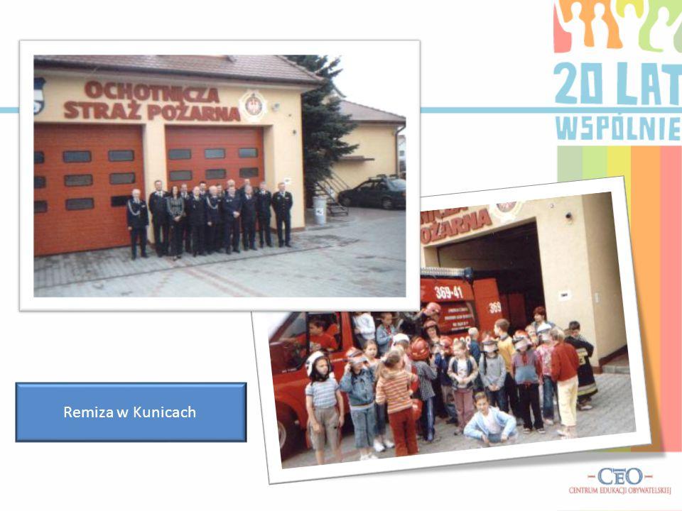 Remiza w Kunicach