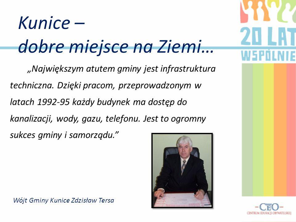 """""""Największym atutem gminy jest infrastruktura techniczna."""