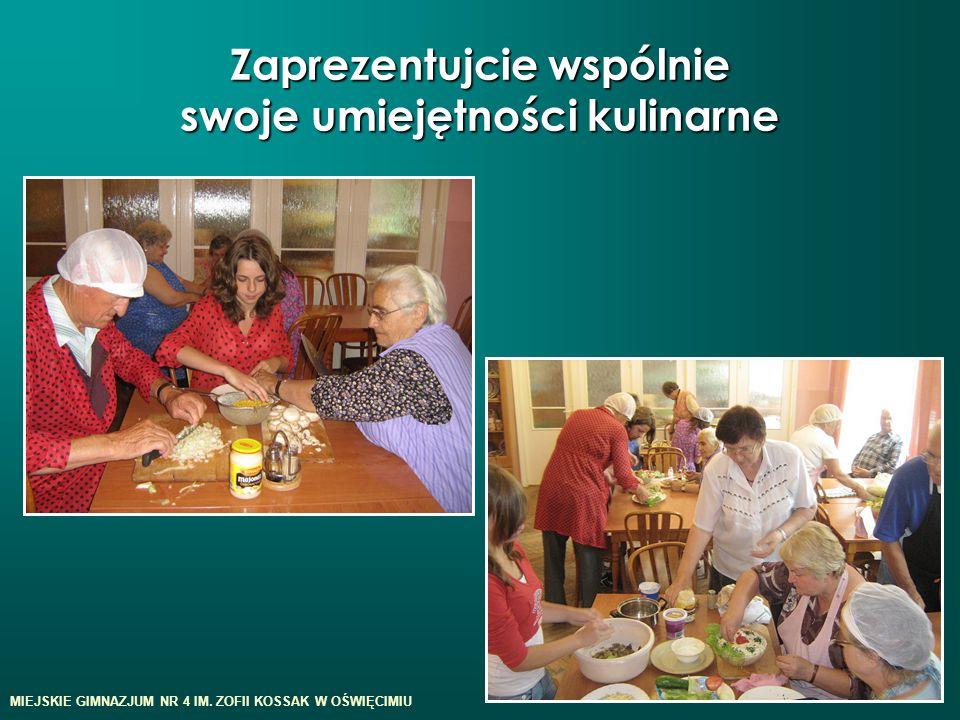 Zaprezentujcie wspólnie swoje umiejętności kulinarne