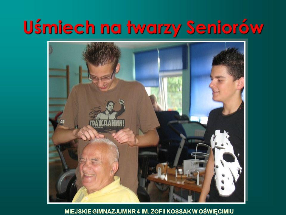Uśmiech na twarzy Seniorów