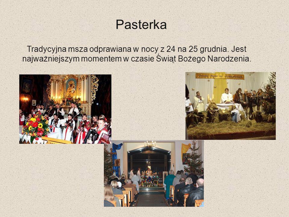 Pasterka Tradycyjna msza odprawiana w nocy z 24 na 25 grudnia. Jest najważniejszym momentem w czasie Świąt Bożego Narodzenia.