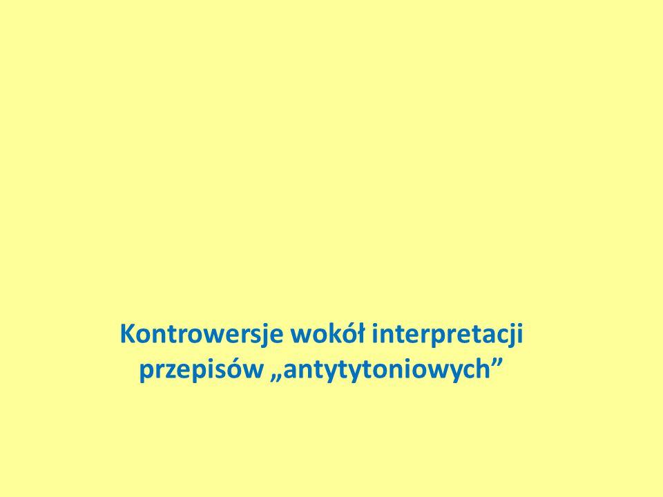 """Kontrowersje wokół interpretacji przepisów """"antytytoniowych"""""""