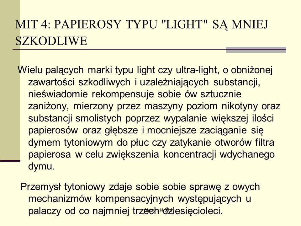Olsztyn 14.05.09 MIT 4: PAPIEROSY TYPU