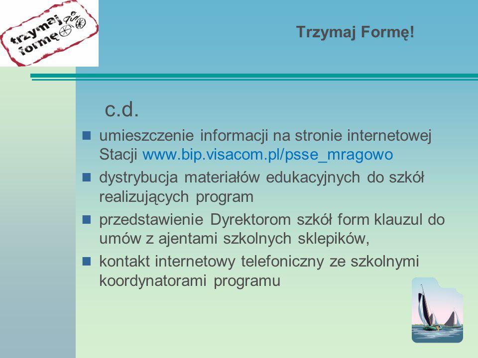Trzymaj Formę.c.d.