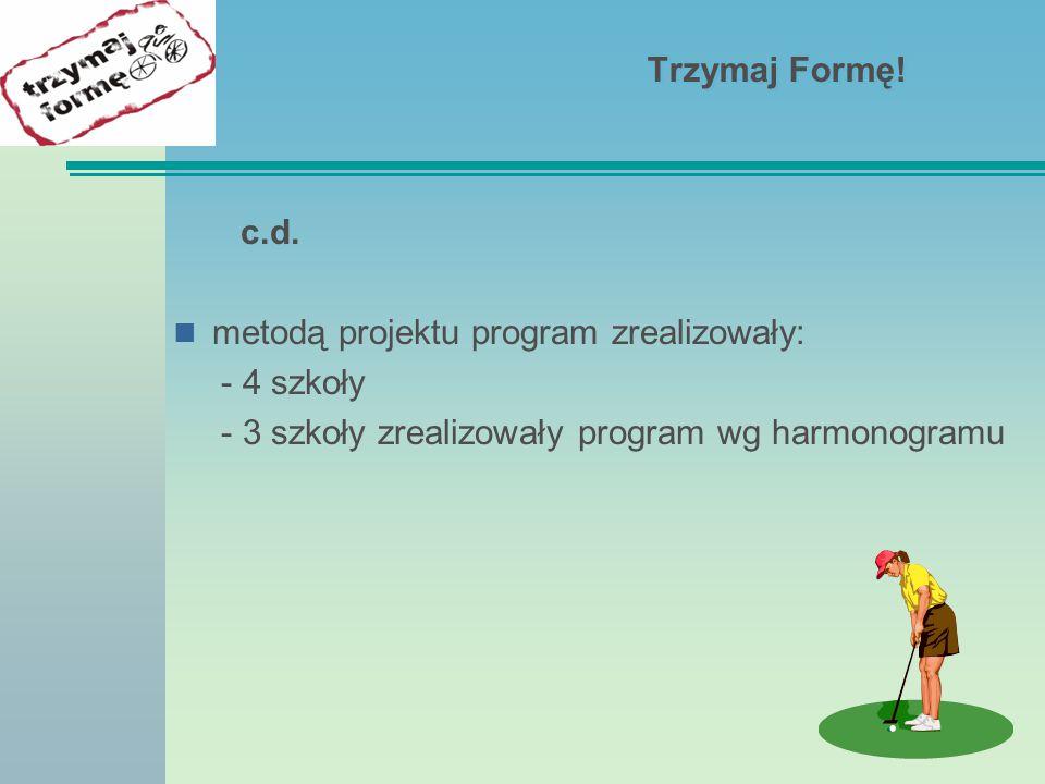 Trzymaj Formę! Zajęcia sportowe zorganizowanie przez Fundusz Aktywnej Rehabilitacji.