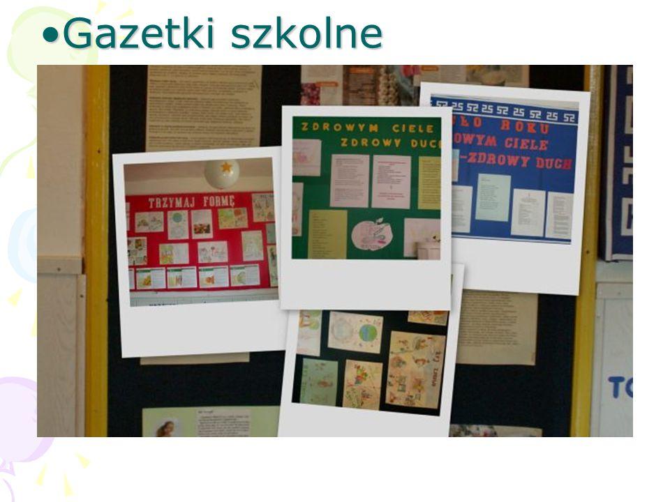 Gazetki szkolneGazetki szkolne