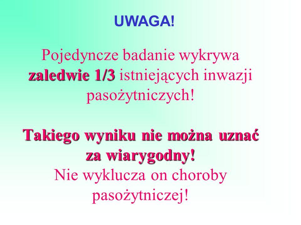 Materiał do badań parazytologicznych 1.