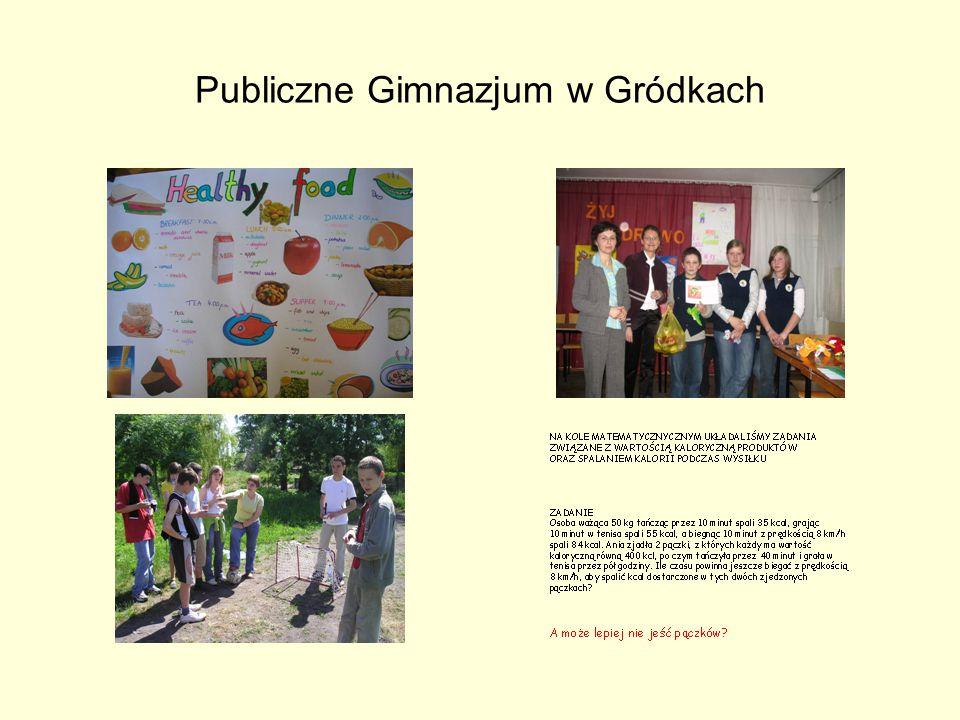 Publiczne Gimnazjum w Gródkach