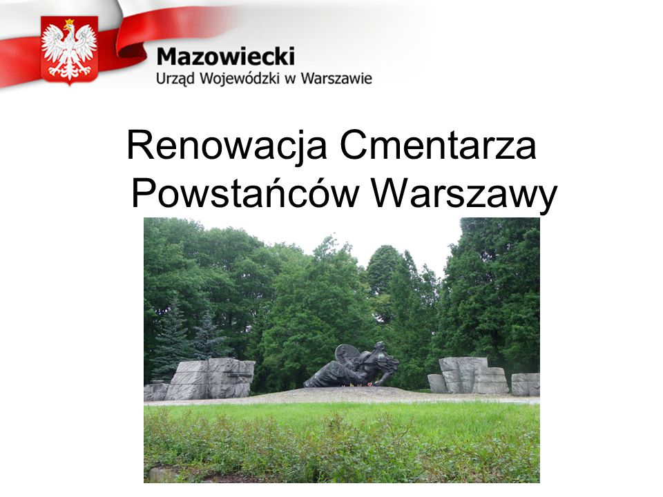 Renowacja Cmentarza Powstańców Warszawy