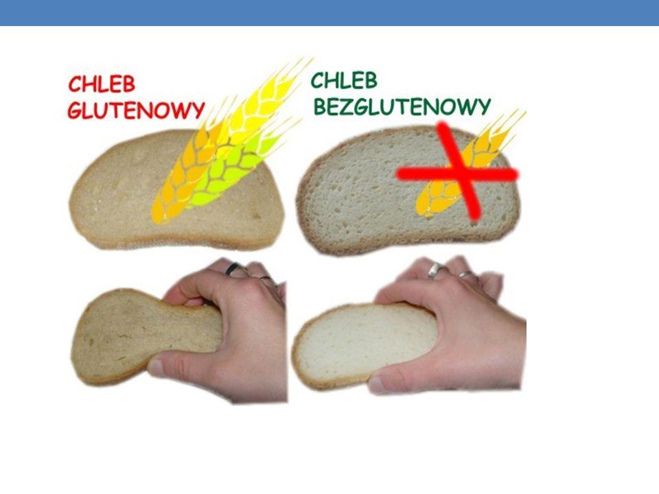 GLUTEN mieszanina białek roślinnych: gluteniny i gliadyny. Występuje w ziarnach zbóż: pszenicy, żyta,jęczmienia,owsagluteninygliadynyzbóżpszenicyżytaj