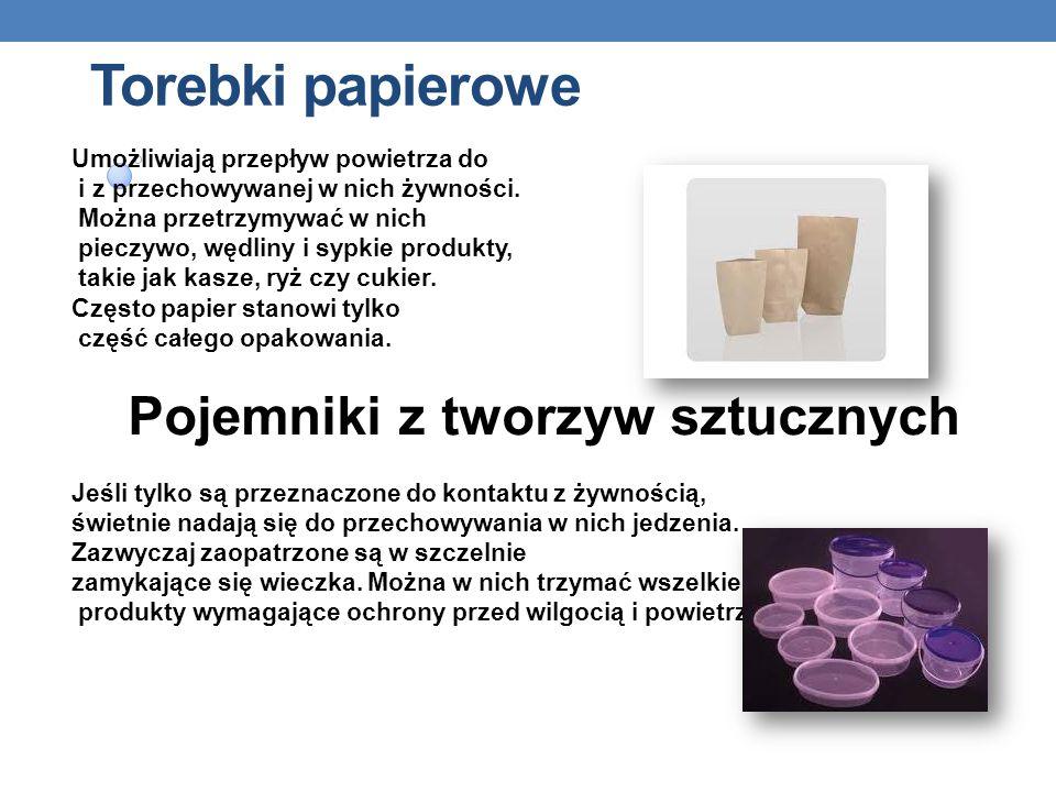 Foliowe i plastikowe torebki To jeden z najczęściej wykorzystywanych rodzajów opakowań do przechowywania jedzenia. Można do nich wkładać pieczywo, owo