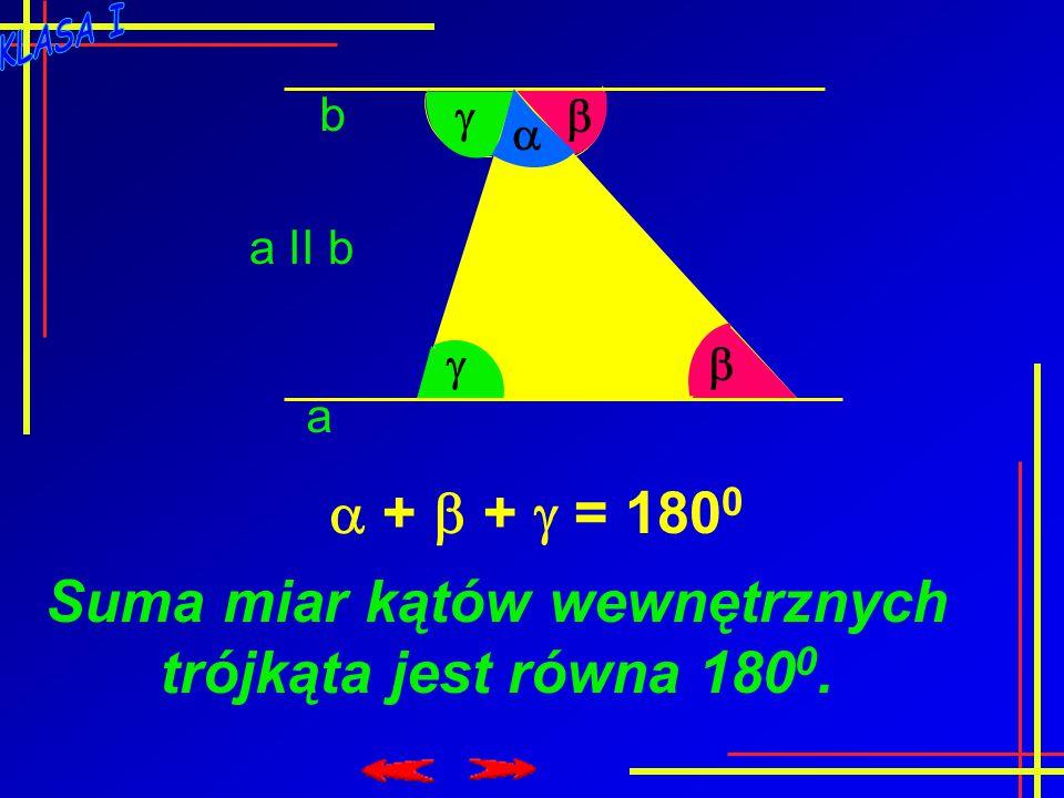 Związki między bokami i kątami w trójkątach. Przypomnienie wiadomości Temat: Zadania