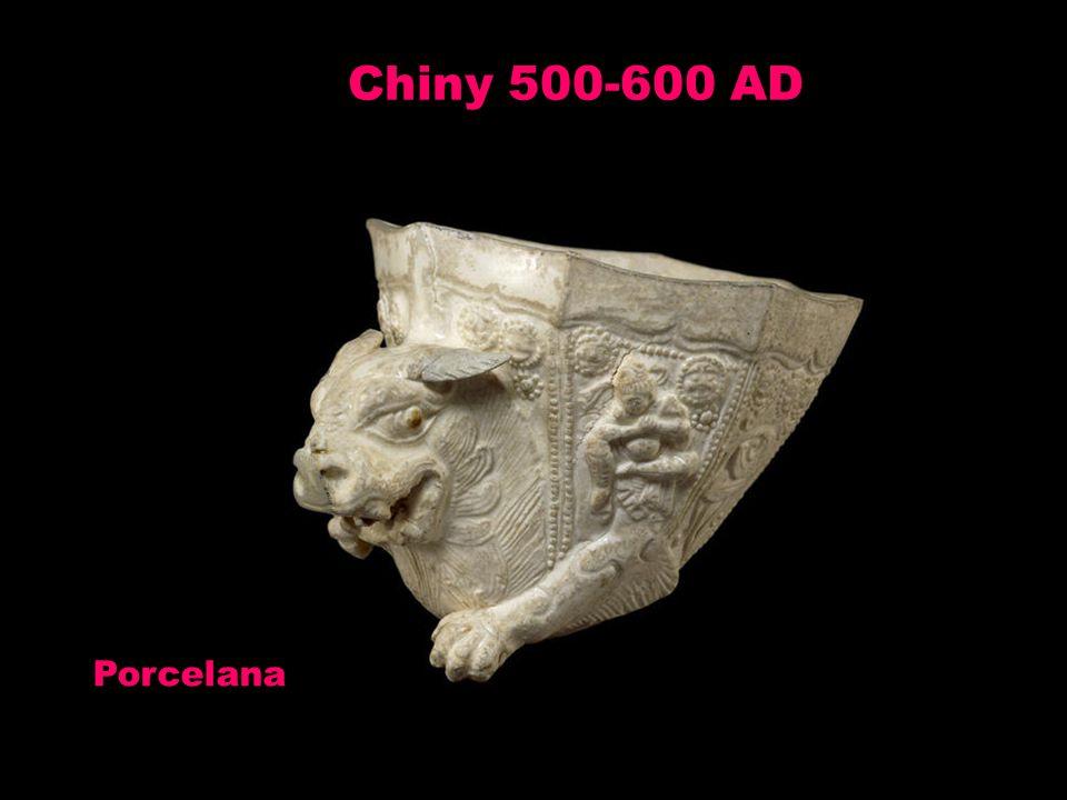 Chiny 500-600 AD Porcelana