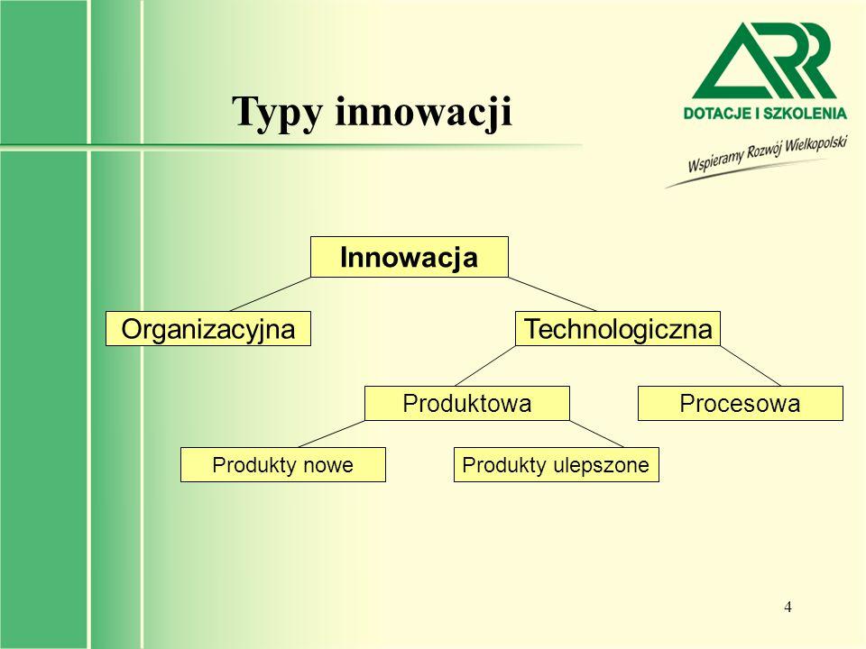 5 Struktura nakładów inwestycyjnych w Polsce Postęp technologiczny w Polsce dokonywał się w ostatnich latach głównie poprzez unowocześnienie parku maszynowego: - ok.