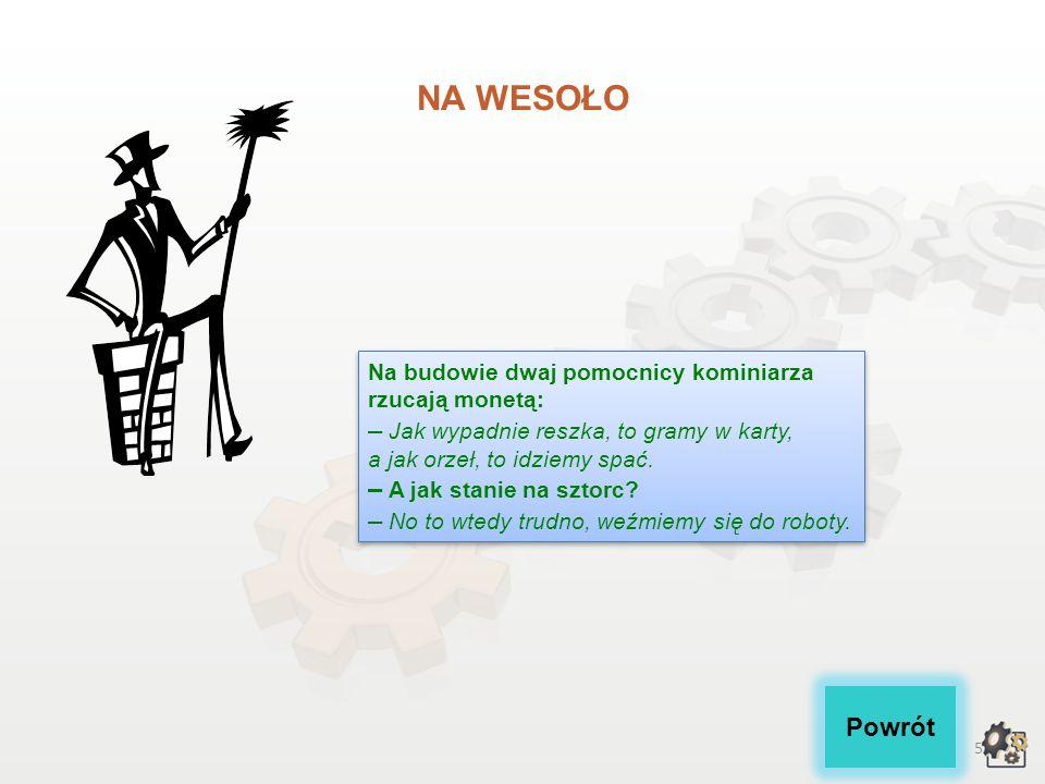 4 Po zapoznaniu się z powyższym opisem zawodu i środowiska pracy z pewnością znalazłeś sformułowania niezrozumiałe dla Ciebie.
