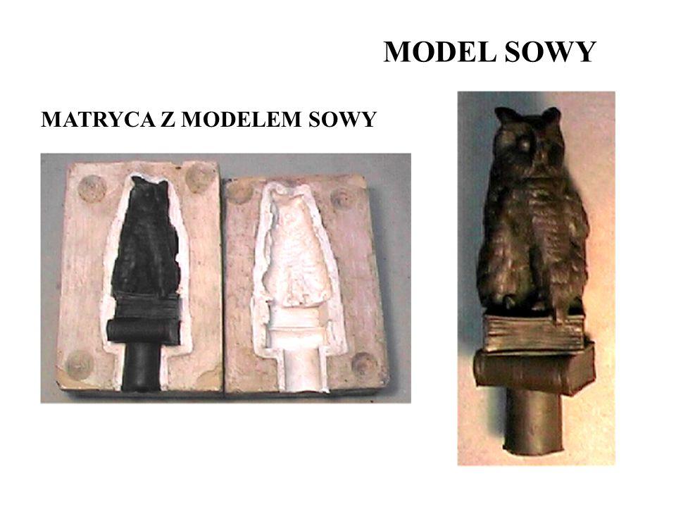 MODEL SOWY MATRYCA Z MODELEM SOWY