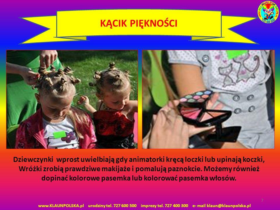 8 MODELOWANIE BALONÓW www.KLAUNPOLSKA.pl urodziny tel.