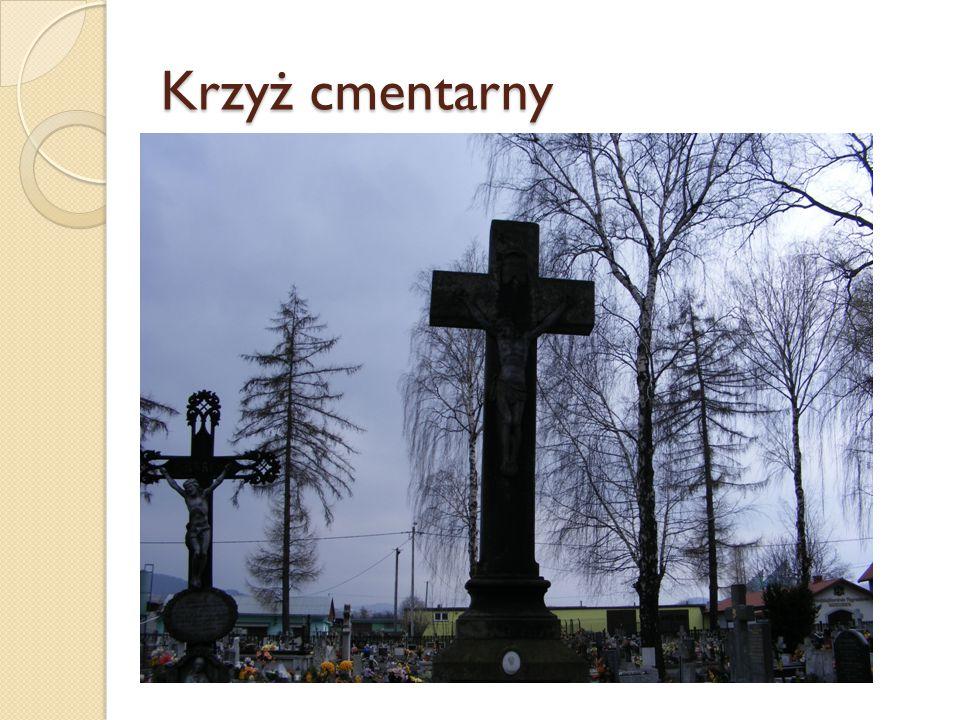 Krzyż cmentarny
