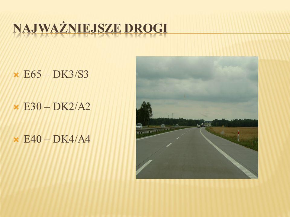  E65 – DK3/S3  E30 – DK2/A2  E40 – DK4/A4