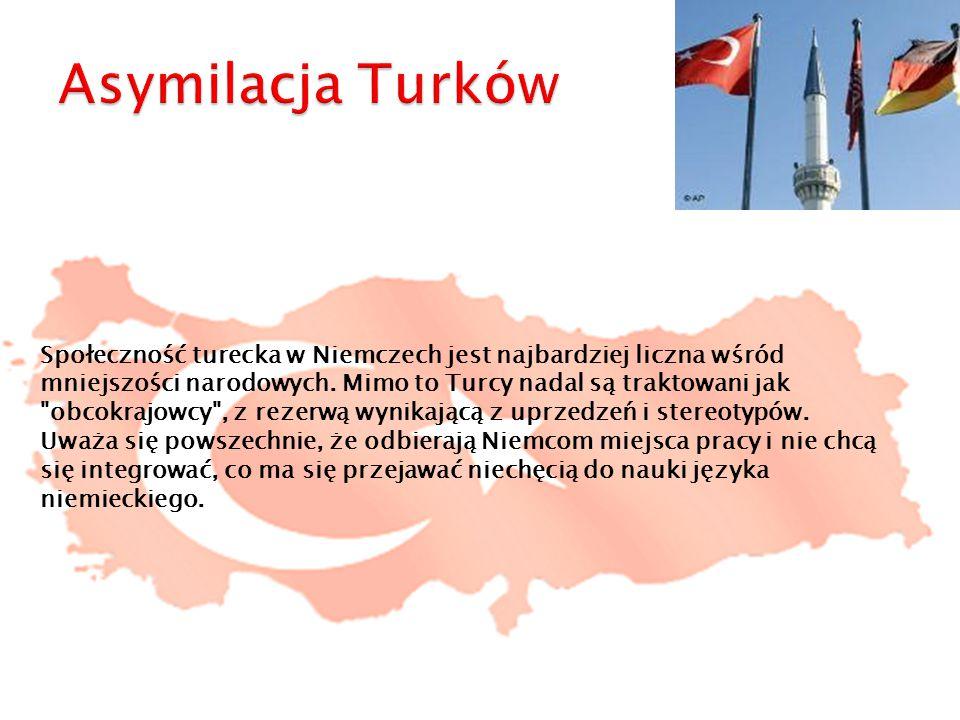 Społeczność turecka w Niemczech jest najbardziej liczna wśród mniejszości narodowych. Mimo to Turcy nadal są traktowani jak
