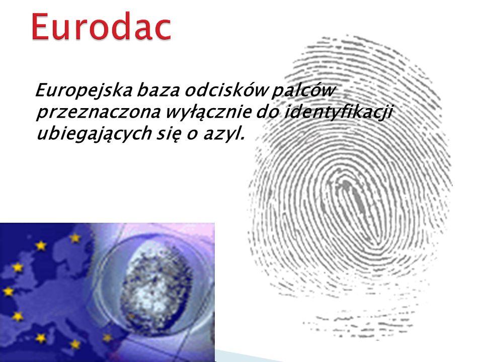 Europejska baza odcisków palców przeznaczona wyłącznie do identyfikacji ubiegających się o azyl.
