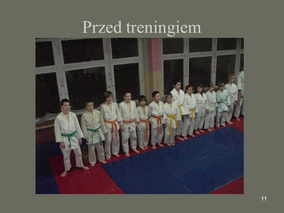 11 Przed treningiem