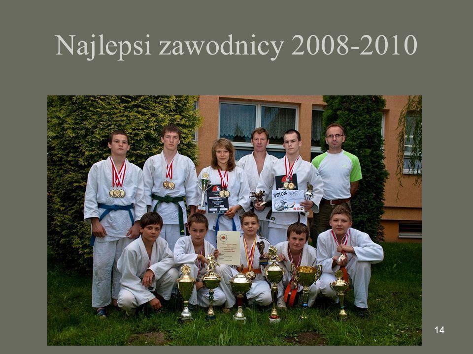 14 Najlepsi zawodnicy 2008-2010