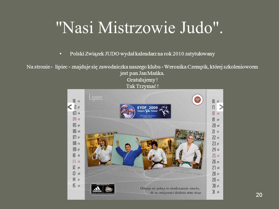 20 Nasi Mistrzowie Judo .