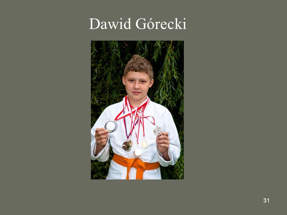 31 Dawid Górecki