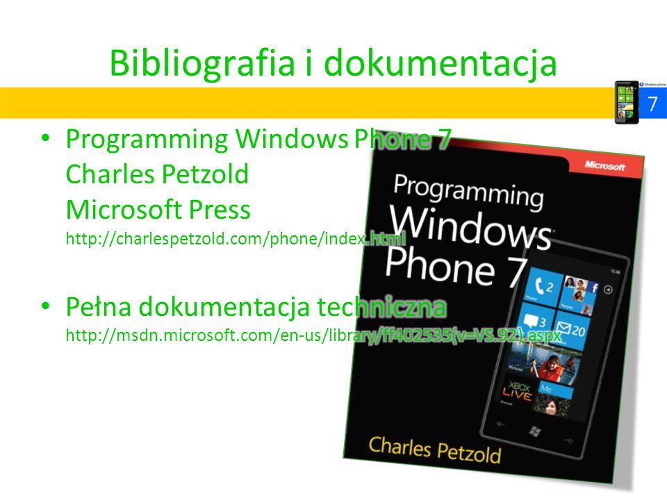Bibliografia i dokumentacja