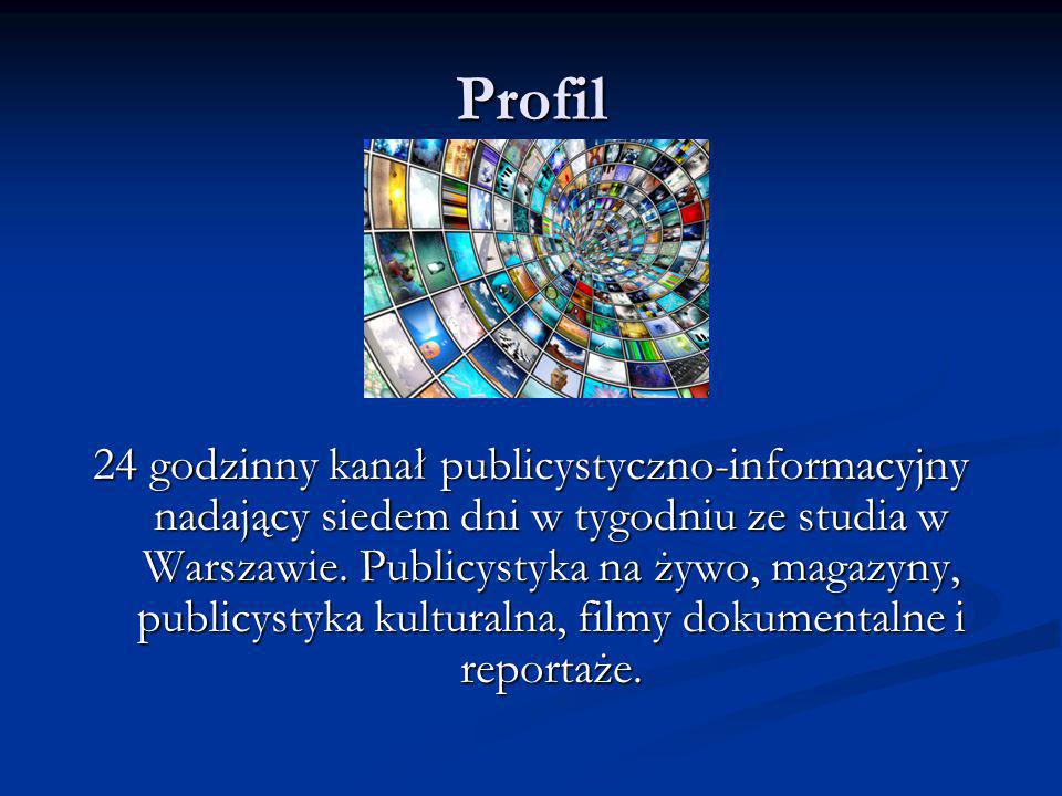 ZAPRASZAMY Już dziś zamów abonament TELEWIZJI REPUBLIKA kontaktując się z nami: telewizjaniezalezna@gmail.com www.telewizjarepublika.pl Już niebawem nowy punkt widzenia w polskiej telewizji!