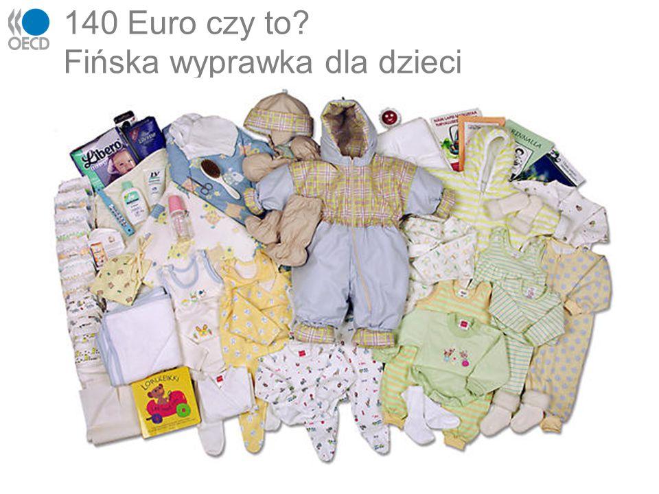 140 Euro czy to? Fińska wyprawka dla dzieci