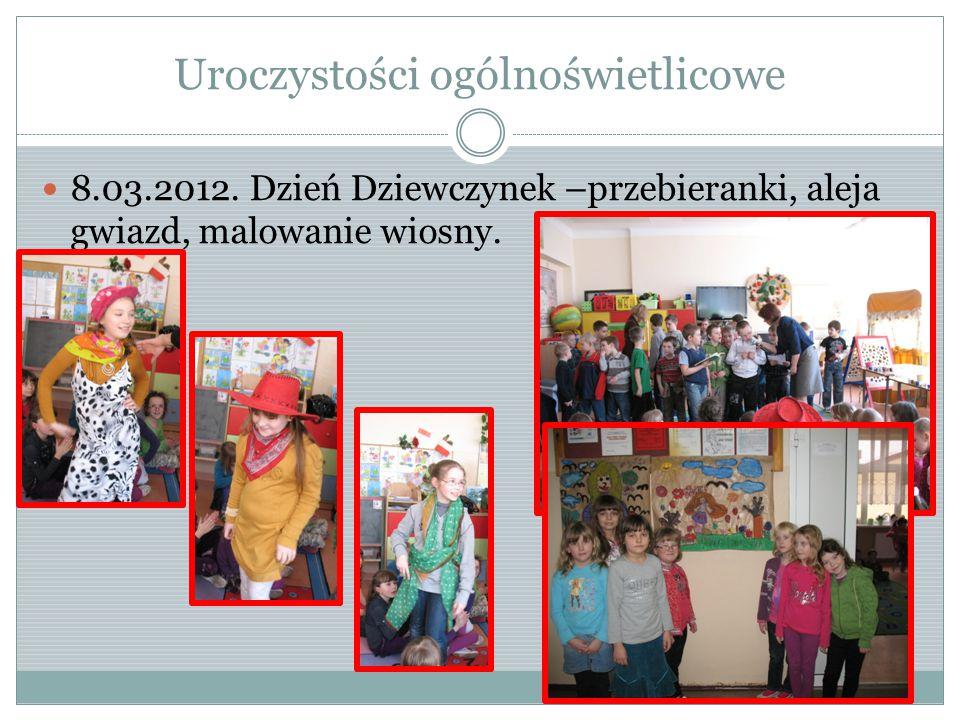 Uroczystości ogólnoświetlicowe 8.03.2012.