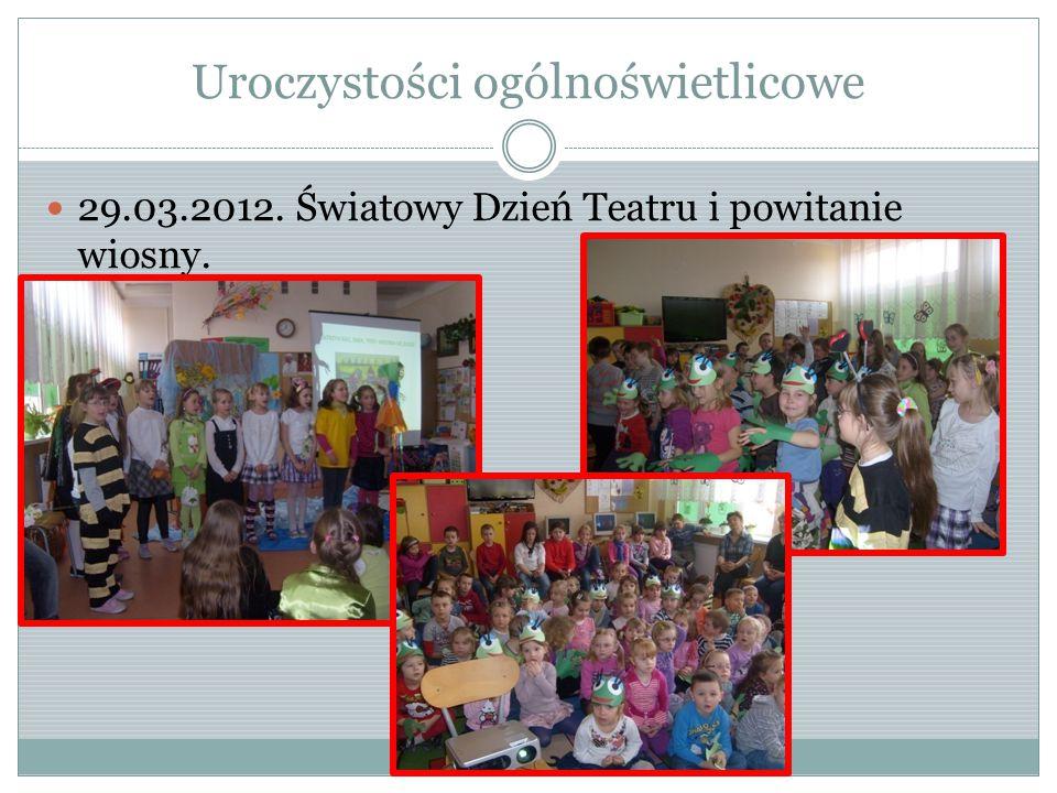 Współpraca Bardzo dobrze układa się współpraca z paniami z biblioteki szkolnej, wychowawcami, pedagogiem, logopedą, osobami zaprzyjaźnionymi.