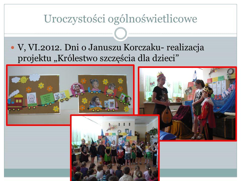 Uroczystości ogólnoświetlicowe V, VI.2012.