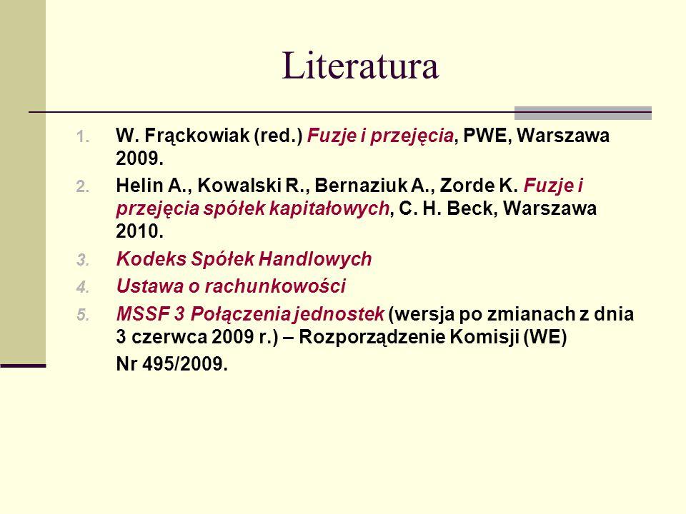Łączenie się spółek według KSH I.Łączenie się spółek kapitałowych II.