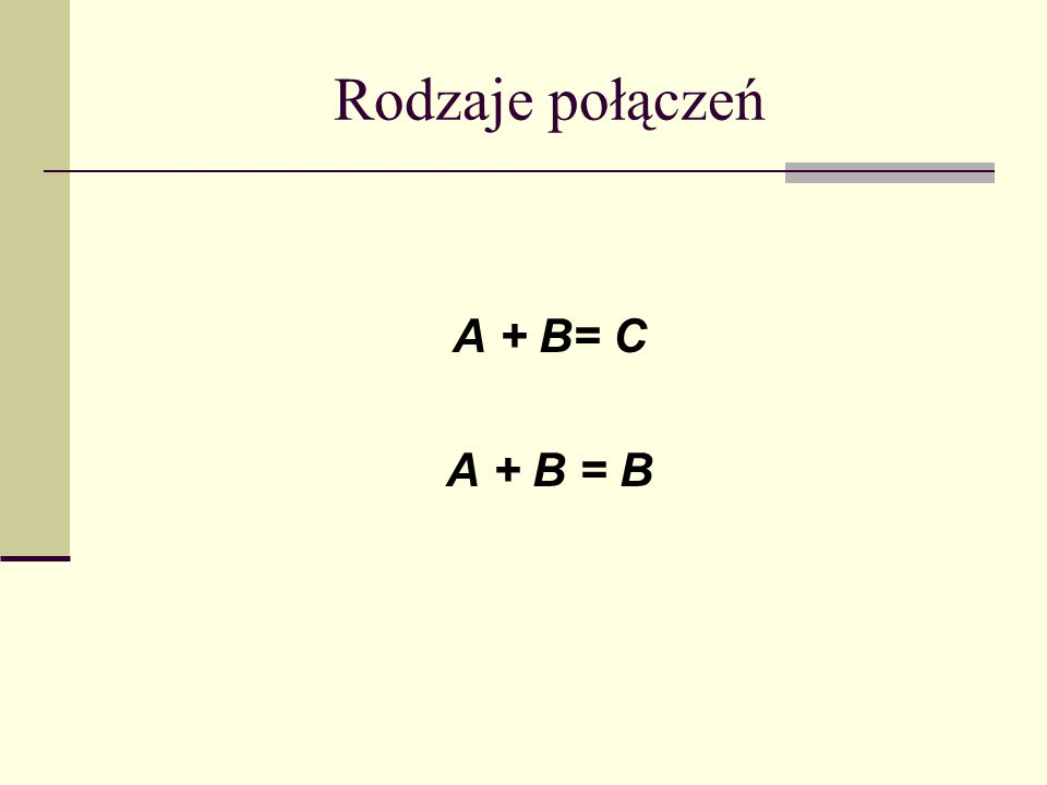 Metoda łączenia udziałów (Pozostałe przypadki jej stosowania) 1)Połączenia spółek będącymi jednostkami zależnymi od tej samej jednostki dominującej, jeżeli na dzień połączenia jednostka dominująca lub jednostki od niej zależne posiadają 100% udziałów łączących się spółek, 2) Połączenia spółek będących wobec siebie jednostką dominującą i jednostką zależną, jeżeli na dzień połączenia łącząca się jednostka dominująca lub jednostki od niej zależne posiadają 100% udziałów w łączącej się jednostce zależnej i jest jednocześnie jednostką zależną od jednostki dominującej wyższego szczebla, która to jednostka dominująca wyższego szczebla posiada samodzielnie lub wraz z jednostkami od siebie zależnymi 100% udziałów w łączącej się jednostce dominującej niższego szczebla.