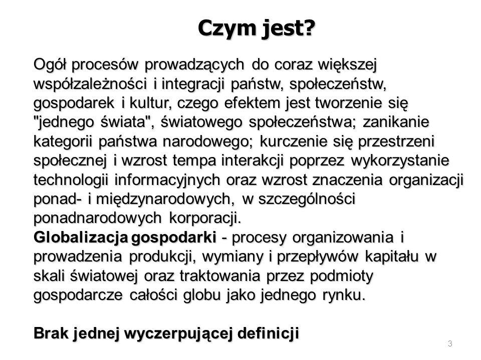 Wyzwania stojące przed polskim systemem edukacji: Kształcenie specjalistów w dziedzinach, od których zależy sukces Polski w globalnej gospodarce, w szczególności inżynierów, informatyków, (inne jakie?), osoby biegle posługujące się kilkoma językami, w tym np.