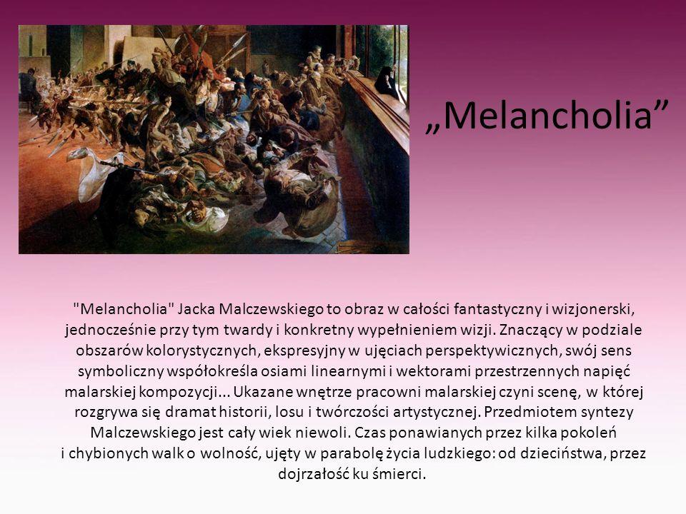 """Melancholia"""