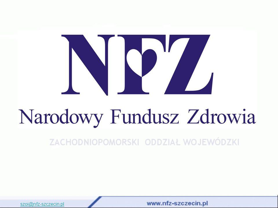 Poniższa prezentacja obejmuje: Rejestracja realizacji zaopatrzenia (SWD): Wprowadzanie realizacji zaopatrzenia ortopedycznego w programie KS-SWD XML Sprawozdanie z realizacji zaopatrzenia ortopedycznego na SZOI szoi@nfz-szczecin.pl 2