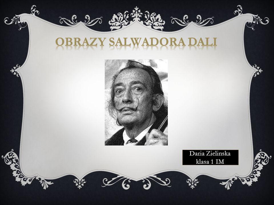 Jedną z najbardziej ekscytujących osobowości sztuki XX wieku jest niewątpliwie Salvador Dali urodzony 11 maja 1904 roku, w Figueras.