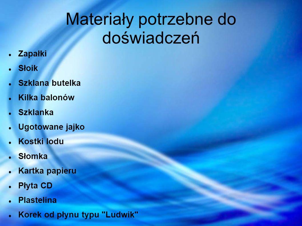 Bibliografia www.spryciarze.pl/zobacz/jak-zrobic-prosty-barometr Neutrino 5/2009 str.