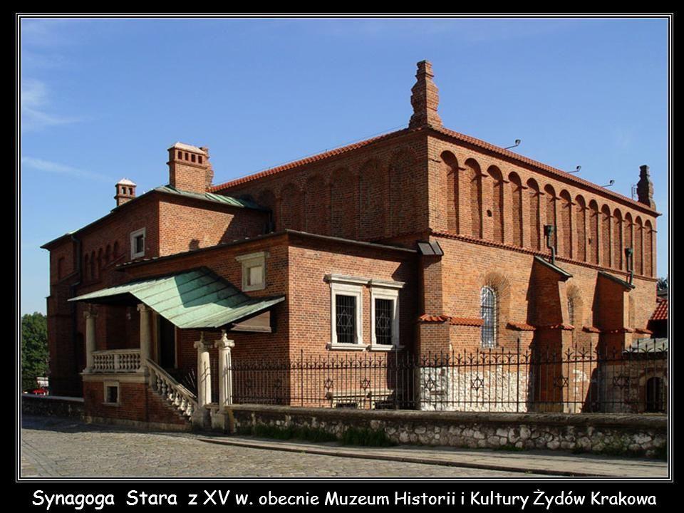 Krakowski Kazimierz – Synagoga Kupa z 1643r.