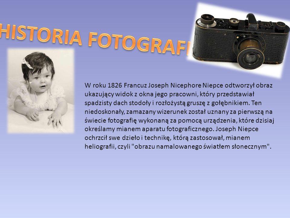 Pierwowzór aparatu fotograficznego był znany już przed wiekami.